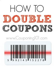 Doubling and tripling coupons is one of the most confusing aspects of couponing for beginners.