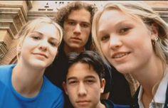 Bianca Strafford, Patrick Verona, Kat Strafford y Cameron James (10 cosas que odio de ti) <3