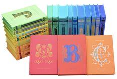 Arte tipográfica em capas de livros da Penguin - Follow the Colours