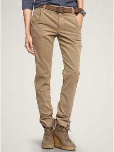 cropped corduroy skinny boyfriend pants