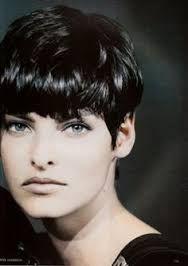 Image result for linda evangelista short hair