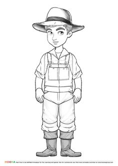 Free Printable Coloring Pages For Toddlers And Preschoolers Farmer Click Through