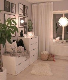 Dresser design ideas that you can try in your room inspo Simple Bedroom, Room Decor Bedroom, Room Ideas Bedroom, Girl Bedroom Decor, Bedroom Makeover, Room Decor, Home Decor, Home Bedroom, Apartment Decor