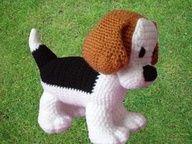 Beagle puppy pattern..