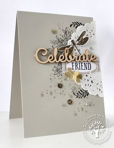 Love for Stamping: Celebrate Friend!