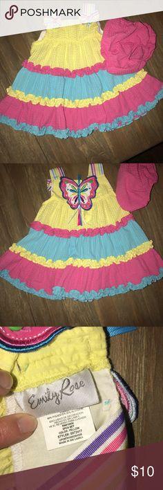 Summer Dress Cute little girls summer dress with bloomers. Emily Rose Dresses Casual