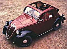 1936 Fiat Topolino (little mouse!)