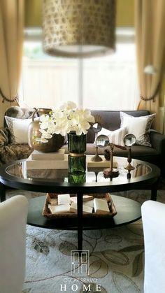 Ikea Malmsta coffee table styling