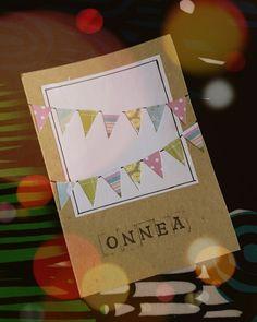 Syntymäpäiväkortti | 2016