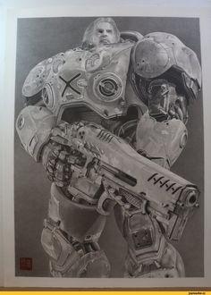 Starcraft,Игры,Starcraft 2,Jim Raynor