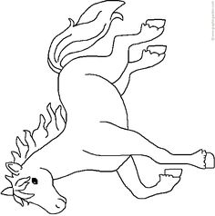 Free Horse Cutouts   Free patterns for crafts/coloring pages