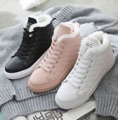 Women Snow Sneakers Booties Casual Shoes Source by Shoes sale Snow Sneakers, Winter Sneakers, Buy Boots, Cool Boots, Punk Shoes, Women's Shoes, Shoes Style, Sneakers Fashion, Fashion Shoes
