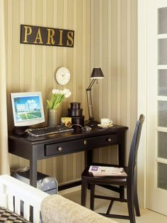 Amazing Office In The Bedroom Decorchick Com Love This Maybe I Can Largest Home Design Picture Inspirations Pitcheantrous
