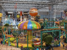 Nickelodeon Universe Inside Of Mall Of America In Bloomington, M Editorial Stock Photo - Image of five, park: 32236598 Mall Of America, North America, Fun Places To Go, Us Destinations, Royal Caribbean Cruise, London Pubs, Tourist Trap, Beach Trip, Beach Travel