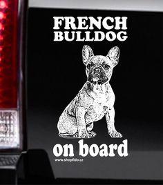 Samolepka na auto FRENCH BULLDOG – FRANCOUZSKÝ BULDOČEK http://www.shopfido.cz/produkt/samolepka-na-auto-bulldog-buldog/