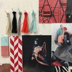 #manufakturfink #textildesign #stellwerkbasel #moodboard #colours #letsgo #startschuss #weaving #knitting #startupacadamy #losgehts Weaving, Colours, Knitting, Instagram Posts, Textile Design, Tricot, Cast On Knitting, Stricken, Crocheting