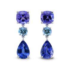 Tanzanite Jewelry, Aquamarine Earrings, Diamond Jewelry, Diamond Earrings, Drop Earrings, Marcasite Jewelry, Pearl Jewelry, Gemstone Jewelry, Gold Jewelry