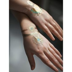 Glow Dark Tattoos ($20) ❤ liked on Polyvore featuring accessories, body art and tattoos