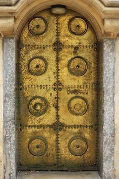 Door of former Hudson's cafe Birmingham UK