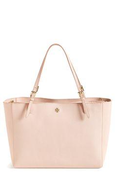 f7bb75b2235c1  York  Buckle Tote Pink Tote Bags