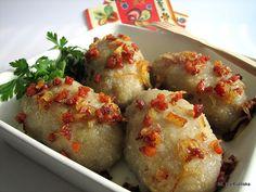 Tasty Pyza: Best dumplings with meat aka zeppelins or kartacze I Love Food, Good Food, Lithuanian Recipes, Lithuanian Food, Drink Recipe Book, Polish Recipes, Polish Food, Food Inspiration, Food To Make