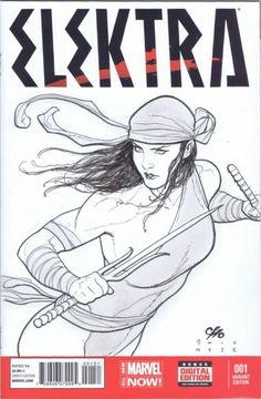 Elektra by Frank Cho *