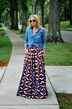 Style Inspiration: Maxi Skirts and Dresses
