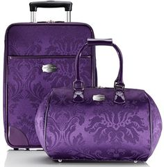 Sport a purple purse or purple luggage for lupus awareness. You will be sure to find your luggage at the airport & able to tell why you have it! Purple Love, Purple Lilac, All Things Purple, Shades Of Purple, Deep Purple, Magenta, Purple Stuff, Purple Bags, Purple Handbags