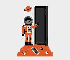 Microsoft by Ryan Chapman, via Behance
