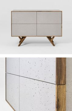 #cement Dresser GIO 120 By Sai Industry | #design Studio Borella · Concrete  FurnitureConcrete ...
