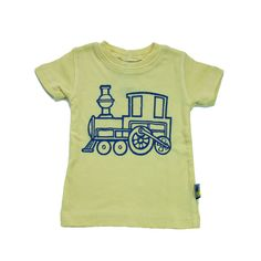 feeding into his train obsession...Choo Choo Train Tee | Infant Boys Tops | Oh Baby Style