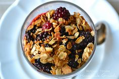 Homemade Granola - perfect for those New Year's Resolutions.