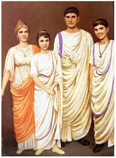 This showcases the Roman toga that were used by the notable citizens of Rome. Ancient Rome, Ancient Greece, Ancient History, European History, Ancient Aliens, American History, Roman Toga, Roman Dress, Rome Fashion
