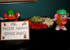 The Journey of Parenthood...: Woody Party Decorations