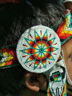 Nice beadwork from our Pipestone Pow Wow