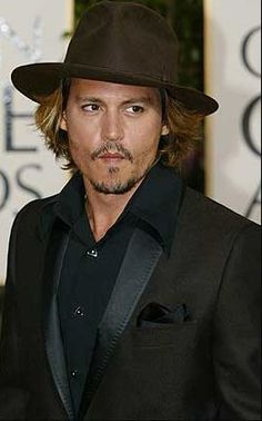 I don't know anyone who isn't at least sort of attracted to Johnny Depp.