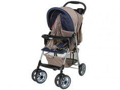 Carrinho de Bebê Berço e Passeio Galzerano Veneto - Reclinável 3 Posições para Crianças até 15kg