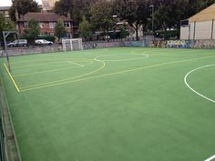 Basketball Pitch Maintenance in Argyll and Bute 1