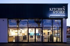 The Kitchen Store, Brighton makes use of the TRi-PIN-LED #led #retail #lighting #specialist