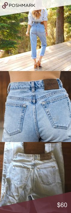 🎉 Calvin Klein Vintage High Waist Jeans Size 2 🎉 Personally owned pair of vintage high-waist acid washed Calvin Klein jeans. Excellent condition. Size 2.  Purchased and worn in 1988. I loved these jeans! Calvin Klein Jeans
