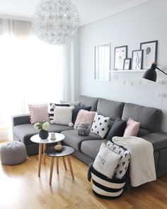 Cheap Home Decoration Stores Living Room Grey, Home Living Room, Interior Design Living Room, Living Room Designs, Living Room Decor, Small Lounge Rooms, Small Room Bedroom, Room Decor Bedroom, Chalet Design