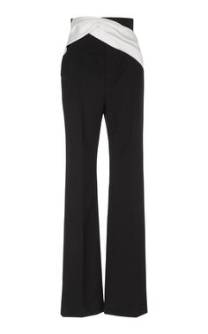 creased cropped trousers - Black Mantù