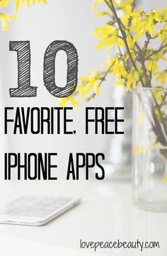 My 10 Favorite, Free iPhone Apps - Love Peace Beauty Good Apps For Iphone, Best Iphone, Free Iphone, Iphone 10, Apps For Teens, Iphone Hacks, Game App, Best Apps, Android Apps