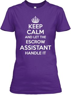 limited edition escrow assistant