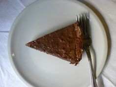 Ok, I am in shock, really in chocolate gateau shock. I knew this recipe would be good as it has pretty top notch origins, namely Trish Deseine whose recipe was made by Kate (don't know her, b…
