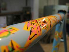 Dario Pegoretti - Cycle Frame Art Paintwork