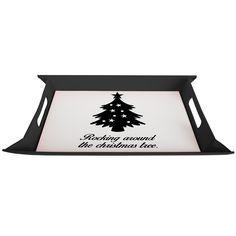 Serviertablett aufklappbar Weihnachtsbaum aus Premium Kunststoff  schwarz - Das Original von Mr. & Mrs. Panda.  Dieses wunderbare Serviertablett von Mr. & Mrs. Panda ist wirklich etwas ganz besonderes. Es ist mit unseren wunderschönen Motiven bedruckt und lässt sich auf dem Tisch als wunderschöne Unterlage benutzen.  Es ist sehr stabil und 25 cm x 35 cm groß.    Über unser Motiv Weihnachtsbaum  Ein Weihnachtsfest ohne einen schön geschmückten Baum ist undenkbar. Er ist ein Symbol für…