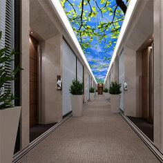 LED Virtual Mood Skylight LED Panel LED wall light panel