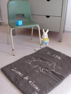 couette lapin by Paul+Paula, via Flickr