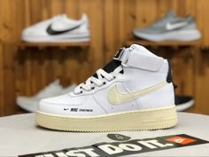 hot sale online 3bbc0 a3020 Womens Shoes Nike Air Force 1 Hi PRM Suede Obsidian Dynamic Pink Sunset  845065 400 845065-400